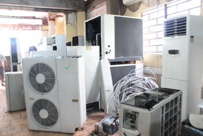 Cho thuê máy lạnh công nghiệp và dân dung