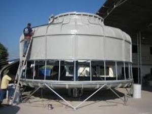 Lắp đặt tháp giải nhiệt